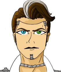 Handsome Jack never to be finished by Damanyel