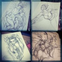 Sketches 2 by jasric