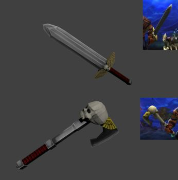 Torchlight 40k Custom Weapon by biew1986