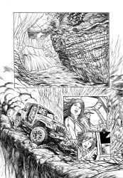 Bloom page 1 inks by dfbovey