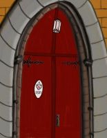 Church Door by DungeonWarden