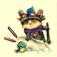 Teemo! :3 by Aadavy