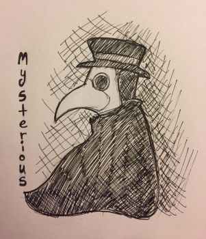 Inktober Day 15: Mysterious by Panolli