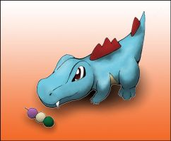 Bandit the Totodile by AInfinity