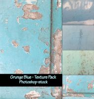 Grunge Blue - Texture Pack by photoshop-stock
