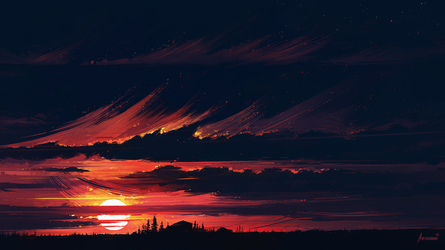 Sundown by Aenami