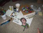 Watercolor Set-up by LilithVallin
