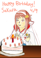 Fire Emblem IF/Fates Sakura's Birthday by NightmareNeko