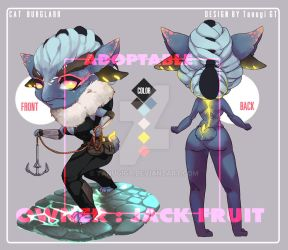 [Sold] Adoptable 1/5 : Class RPG [Cat Burglar] by TanugiGT