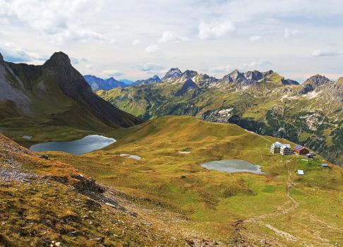 Overview over the Rappensee by da-phil