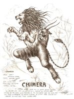 chimera by artstain