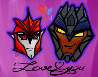 Love You Knockout x Breakdown by Kittylover9399