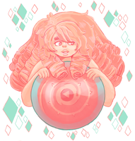 Rose quartz by ToxicBiscuits