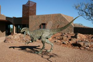 Australovenator Wintonensis statue 7 by 2195Razielim