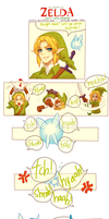LoZ comic -- Who's really annoying? (+spdpaint) by onisuu