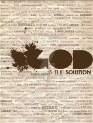 God is the solution by josefina86