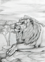 Mufasa by Gray-Ghost-Creations