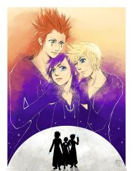 Kingdom Hearts - Art Book Submission by CoffeeCat-J