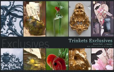 Trinkets Exclusives by kuschelirmel-stock