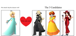 Which Girl Would You Pair Rosalina With? by FcoMk513
