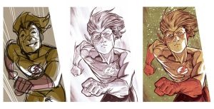 Bart Allen Process by manapul