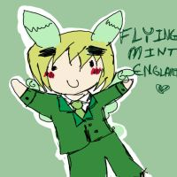 FLYING MINT ENGLAND by Odori-chan