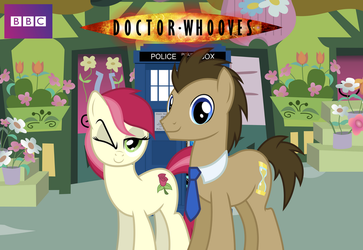 Doctor Whooves and Rose Cover by Ryan1942