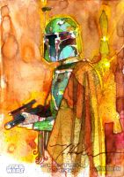 Boba Fett Fan Days IV by markmchaley