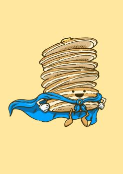 Captain Pancake Descends by nickv47