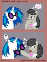 The truth about Vinyl's eyes by ks-claw