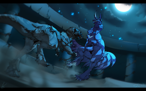 in the dark of the night by SignlessCan