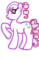 Kasane teto pony uncoloured by AlyssumPetal