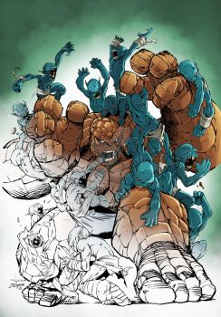 Thing Vs Golems   Flats By Michael Angelo Arbon By by marcopelandraart