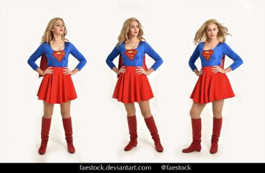 Supergirl  - Stock model reference pack  32 by faestock
