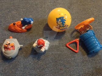 Sonic Happy Meal Toys by Terrific21