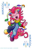 Pinkie Pie Joker! by shivaesyke