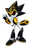Shard The Metal Sonic by SilverAlchemist09