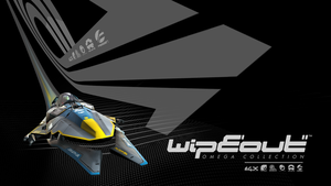 Wipeout Omega Collection - HD Wallpaper 07 - Black by JJteam