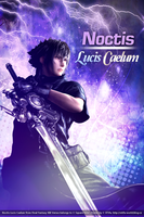Noctis Lucis Caelum Poster by ladylucienne