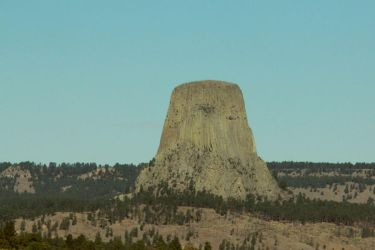 Devils Tower from a Distance by revack
