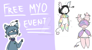 SPIRITE MYO EVENT OPEN by Creamcloudie