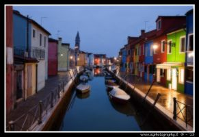 Burano by night 1 by zaffonato