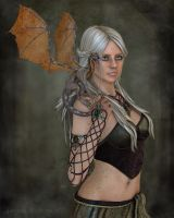 Daenerys Targaryen by DigiCuriosityDesigns