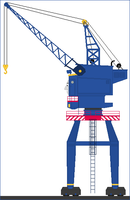 Beresford The Gantry Crane by Princess-Muffins