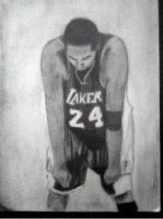 2013 drawing - Kobe Bryant by nielopena