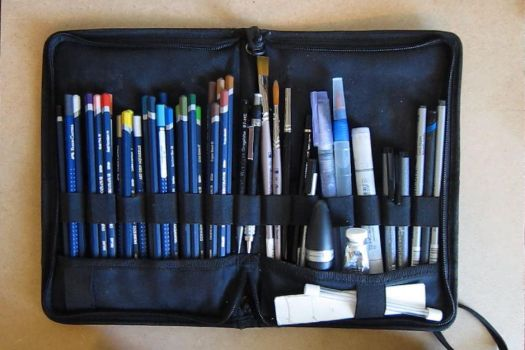 Artist's Travel Kit by Steven-Powers-SMP