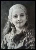 Portrait of a girl by Ceridwens-gallery
