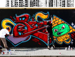 Shanghai Graffiti 36 by sylences