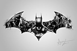 BATMAN by thegraphicarts