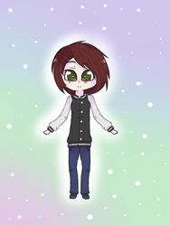 My Self-Character Design~ by xXDestinyClaws5651Xx